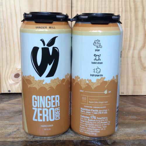 Vander Mill - Ginger Zero Cider