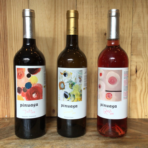 Three Bottle Wine Bundle - Red, White, and Rosé
