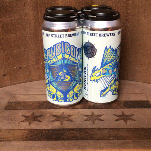 """18th St. - """"Rubicon"""" - West Coast Style IPA"""
