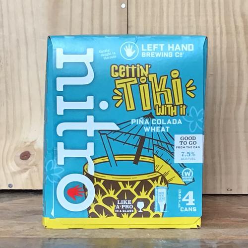 "Left Hand - ""Gettin Tiki With It"" - Nitro Pina Colada Wheat"