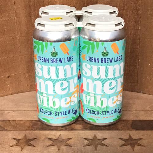 "Urban Brew Labs - ""Summer Vibes"" Kolsch Style Ale"