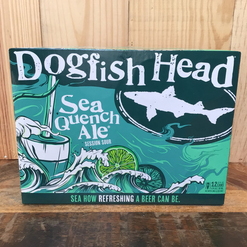 Dogfish Head - Sea Quencher - Session Sour w/ Lime 12 pack