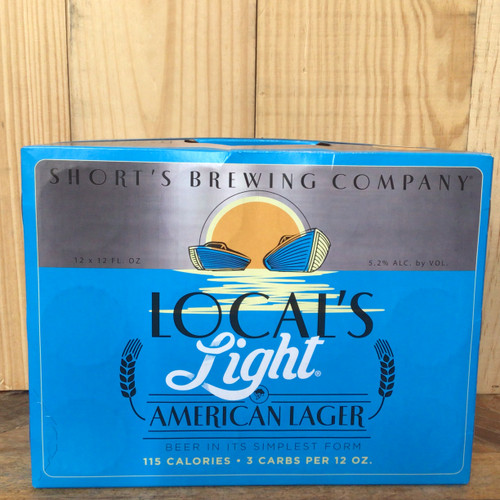 Short's Brewing - Local's Light American Lager