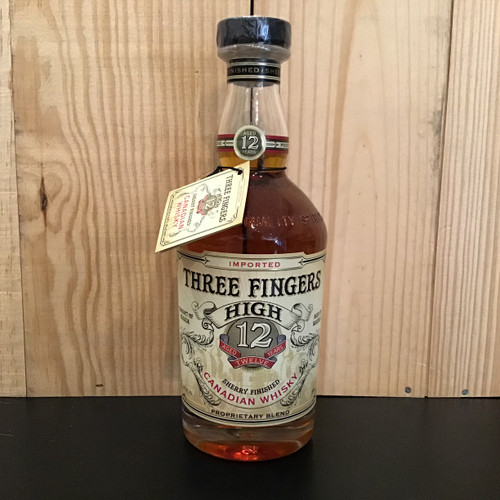 Three Fingers High - 12 Year Canadian Whiskey
