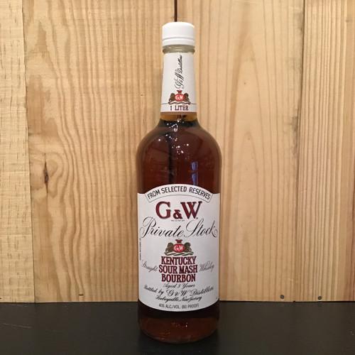 G & W Kentucky Bourbon - 1L