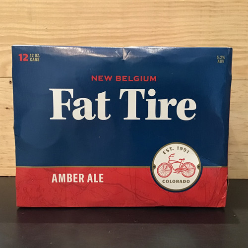 New Belgium - Fat Tire Amber Ale - 12 Pack