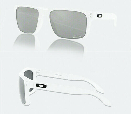 Authentic Oakley 0OO 9417 HOLBROOK XL 941715 MATTE WHITE Sunglasses