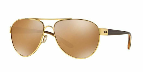 Authentic Oakley 0OO4110 Disclosure 411002 Polished Gold Sunglasses
