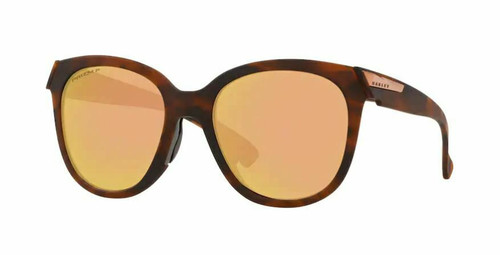 Authentic Oakley 0OO9433 Low Key 943309 Matte Brown Tort Polarized Sunglasses