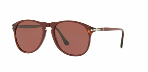 Authentic Persol 0PO6649SM-1094AL Red Polarized Sunglasses