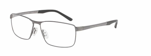 Authentic Porsche Design P 8273 D Dark Gun Eyeglasses