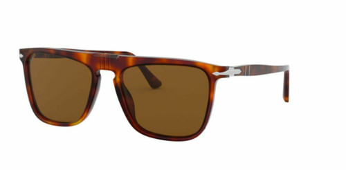 Authentic Persol 0PO3225S-24/57 Havana Polarized 3225 S Sunglasses