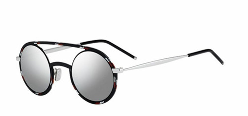 Christian Dior Homme  Diorsynthesis 01 TAY/0T Black White Red Sunglasses