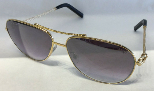 Authentic Fred Force10 8424 206 Gold Mirrored/Gradient Sunglasses