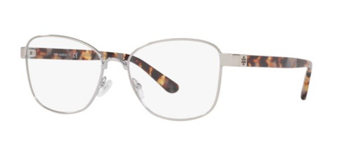 Authentic Tory Burch 0TY1061 3275 Shiny Silver Metal Eyeglasses