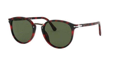 Authentic Persol 0PO3210S-110031 Red Grid 3210 s Sunglasses