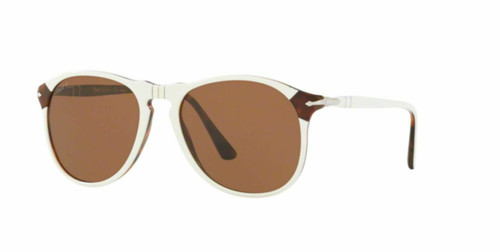 Authentic Persol 0PO6649SM-1097AN White Polarized 6649 sm Sunglasses