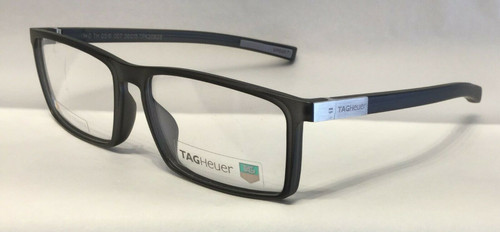 Authentic Tag Heuer TH0516 O 007 Matte Black Eyeglasses