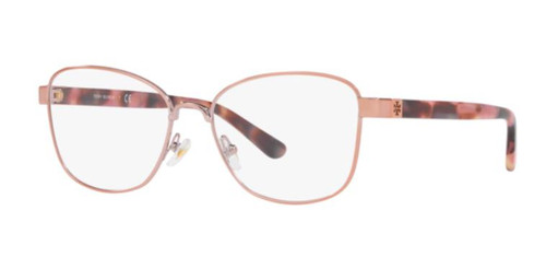 Authentic Tory Burch 0TY1061 3273 Shiny Rose Gold Metal Eyeglasses