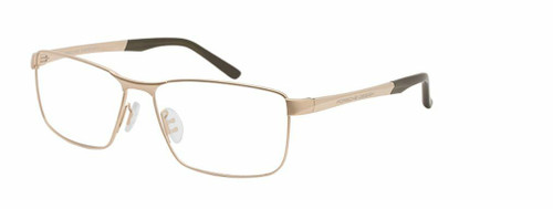 Authentic Porsche Design P 8273 C Light Gold Eyeglasses