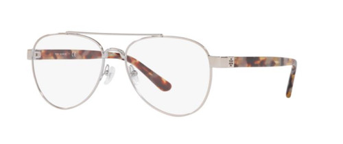 Authentic Tory Burch 0TY1060 3275 Shiny Silver Metal Eyeglasses