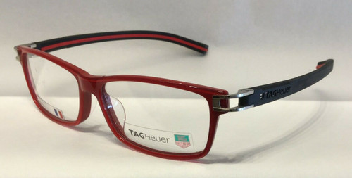 Authentic Tag Heuer TH7604 O 005 Red/Black Eyeglasses