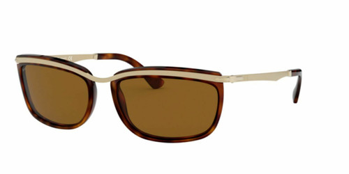 Authentic Persol Key West II 0PO3229S-24/33 Havana 3229 S Sunglasses
