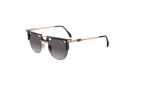 AUTHENTIC Cazal Legends 745 001 Black Gold Sunglasses