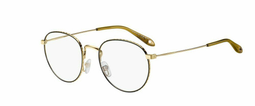 Authentic Givenchy Gv0072-0RHL Gold Black 0072 Eyeglasses