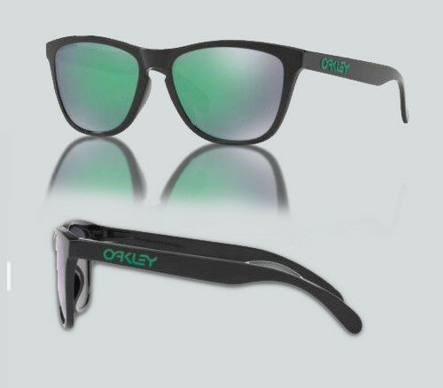 Authentic Oakley 0OO9245 FROGSKINS (A) 924564 POLISHED BLACK Sunglasses