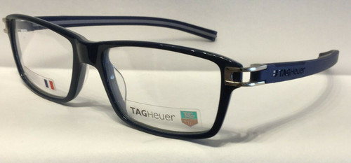 Authentic Tag Heuer TH7601 O 003 Blue/Grey Eyeglasses