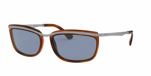 Authentic Persol Key West II 0PO3229S-96/56 Light Havana 3229 S Sunglasses