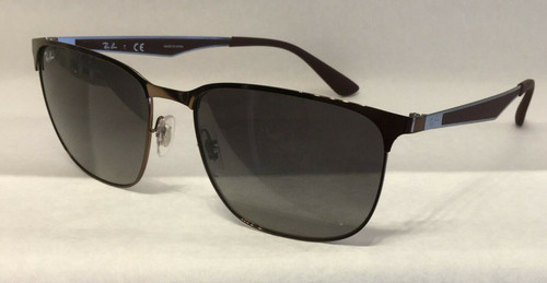 Authentic Ray Ban 0RB3569 121/11 BROWN Sunglasses