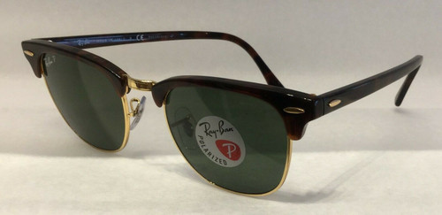 Ray Ban RB 3016 CLUBMASTER 990/58 RED HAVANA Sunglasses