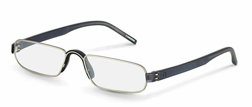 Unisex Reading Glasses  R2180 C Palladium/Grey  (+1.00, +1.50, +2.00, +2.50)