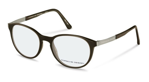 Authentic Porsche Design P 8261 A Black Eyeglasses