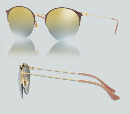 Authentic Ray Ban 0RB3578 9011A7 GOLD TOP TURTLE DOVE Sunglasses