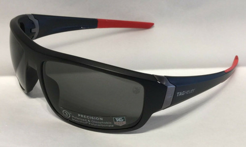 Tag Heuer TH9221 S 901 Black/Red Mirrored Polarized Sunglasses