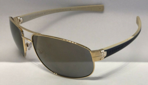 Authentic Tag Heuer TH0252 S 705 Gold/Brown Mirrored Sunglasses