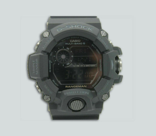Authentic Casio G-Shock Digital Rangeman Black Resin Strap Watch GW9400-1B