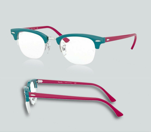 Authentic Ray Ban 0RX4354V 5907 Turquoise Eyeglasses