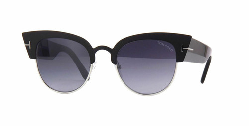 Authentic Tom Ford FT 0607 Alexandra 02 05C Black/other Sunglasses