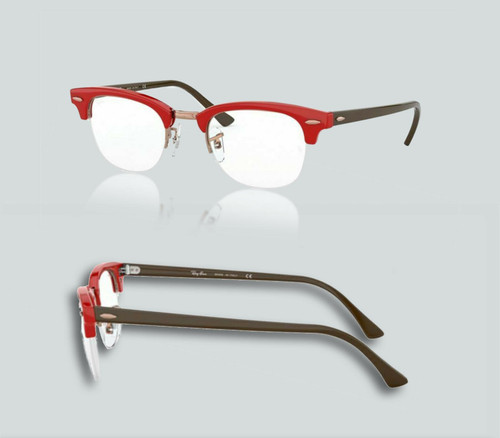 Authentic Ray Ban 0RX4354V 5904 Red Eyeglasses