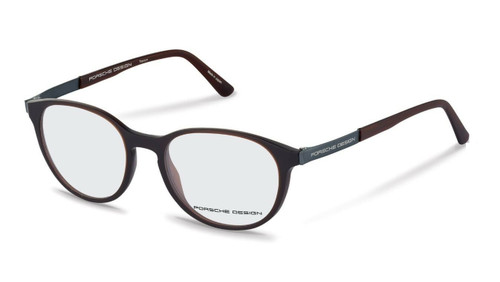 Authentic Porsche Design P 8261 E Brown Eyeglasses