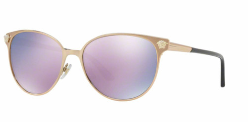 Authentic Versace 0VE 2168 14095R PINK GOLD Sunglasses