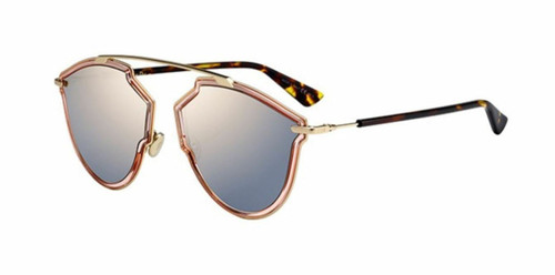 Christian Dior So Real Rise 0S45/0J Pink Gold  Sunglasses