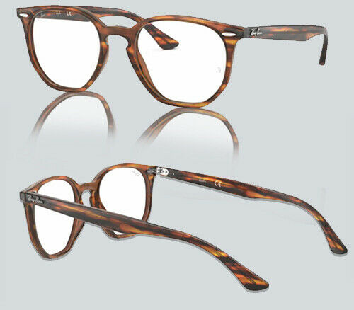 Authentic Ray Ban 0RX7151 5797 HAVANA RED/BROWN Eyeglasses