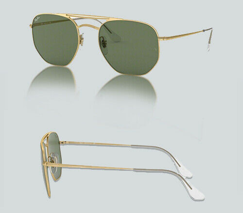 Authentic Ray Ban 0RB 3609 914071 DEMI GLOSS GOLD Sunglasses