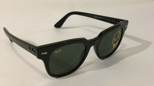 Authentic Ray Ban 0RB 2168 METEOR 901/31 BLACK Sunglasses