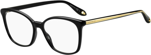 Authentic Givenchy Gv0073-0807 Black 0073 Eyeglasses